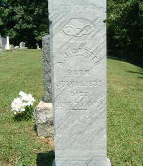 CARTER, A. J. - Gallia County, Ohio | A. J. CARTER - Ohio Gravestone Photos