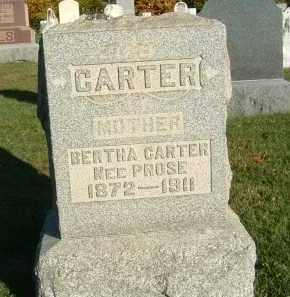 CARTER, BERTHA - Gallia County, Ohio   BERTHA CARTER - Ohio Gravestone Photos