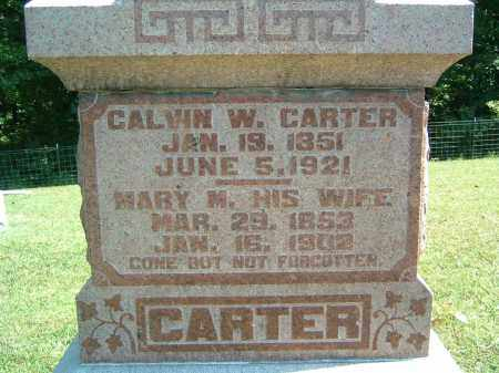 CARTER, MARY M. - Gallia County, Ohio | MARY M. CARTER - Ohio Gravestone Photos