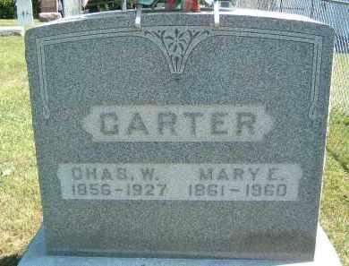 CARTER, MARY E. - Gallia County, Ohio   MARY E. CARTER - Ohio Gravestone Photos