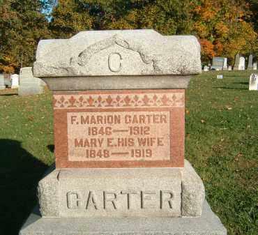 CARTER, F. MARION - Gallia County, Ohio | F. MARION CARTER - Ohio Gravestone Photos