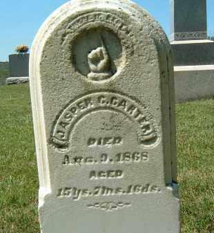 CARTER, JASPER C. - Gallia County, Ohio | JASPER C. CARTER - Ohio Gravestone Photos