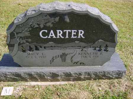 CARTER, KENNETH - Gallia County, Ohio   KENNETH CARTER - Ohio Gravestone Photos