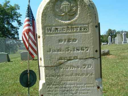 CARTER, W. R. - Gallia County, Ohio | W. R. CARTER - Ohio Gravestone Photos