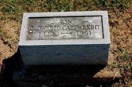 CARTWRIGHT, C. DWIGHT - Gallia County, Ohio | C. DWIGHT CARTWRIGHT - Ohio Gravestone Photos