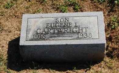 CARTWRIGHT, EUGENE L - Gallia County, Ohio | EUGENE L CARTWRIGHT - Ohio Gravestone Photos