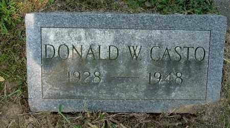 CASTO, DONALD WALTER - Gallia County, Ohio   DONALD WALTER CASTO - Ohio Gravestone Photos
