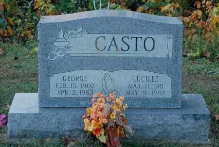 CASTO, LUCILLE - Gallia County, Ohio | LUCILLE CASTO - Ohio Gravestone Photos