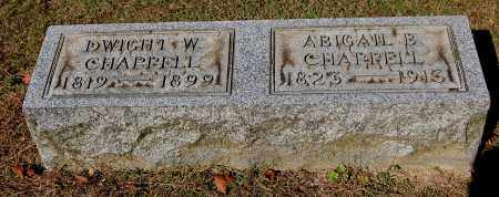 CHAPPELL, ABIGAIL BELL - Gallia County, Ohio | ABIGAIL BELL CHAPPELL - Ohio Gravestone Photos