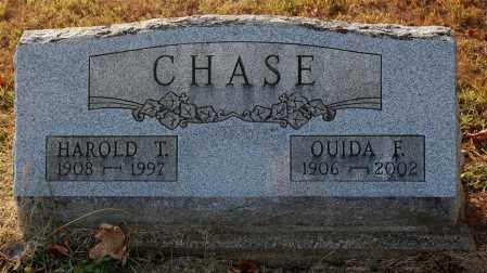 CHASE, HAROLD T. - Gallia County, Ohio | HAROLD T. CHASE - Ohio Gravestone Photos
