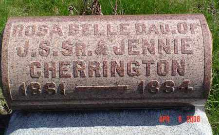 CHERRINGTON, ROSA BELLE - Gallia County, Ohio | ROSA BELLE CHERRINGTON - Ohio Gravestone Photos