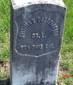 CHERRINGTON, WHITFIELD - Gallia County, Ohio | WHITFIELD CHERRINGTON - Ohio Gravestone Photos