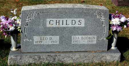CHILDS, IDA - Gallia County, Ohio | IDA CHILDS - Ohio Gravestone Photos