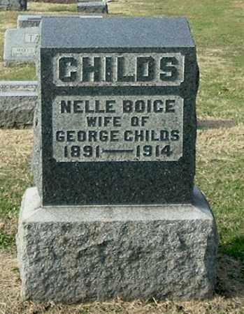 CHILDS, NELLE MARIE - Gallia County, Ohio   NELLE MARIE CHILDS - Ohio Gravestone Photos
