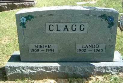 CLAGG, MIRIAM - Gallia County, Ohio   MIRIAM CLAGG - Ohio Gravestone Photos