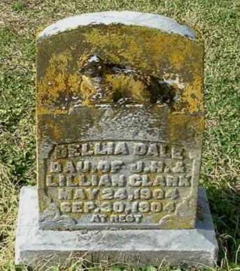 CLARK, DELLIA DALE - Gallia County, Ohio   DELLIA DALE CLARK - Ohio Gravestone Photos