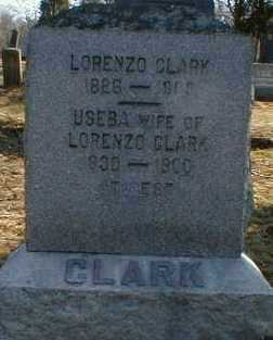 CLARK, USEBA - Gallia County, Ohio   USEBA CLARK - Ohio Gravestone Photos
