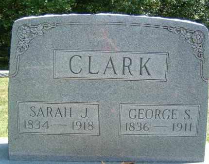 CLARK, SARAH J. - Gallia County, Ohio | SARAH J. CLARK - Ohio Gravestone Photos