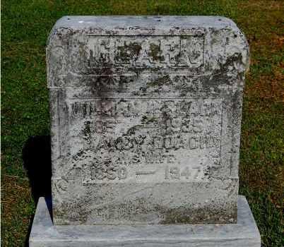 ROACH CLARK, NANCY - Gallia County, Ohio   NANCY ROACH CLARK - Ohio Gravestone Photos