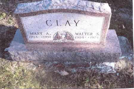 CLAY, WALTER S. - Gallia County, Ohio | WALTER S. CLAY - Ohio Gravestone Photos