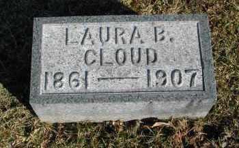 CLOUD, LAURA B. - Gallia County, Ohio   LAURA B. CLOUD - Ohio Gravestone Photos