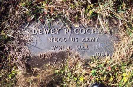 COCHRAN, DEWEY R. - Gallia County, Ohio   DEWEY R. COCHRAN - Ohio Gravestone Photos