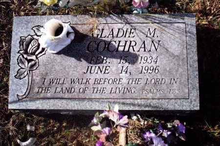 COCHRAN, GLADIE M. - Gallia County, Ohio   GLADIE M. COCHRAN - Ohio Gravestone Photos