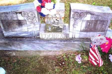 COCHRAN, MARY ZELL - Gallia County, Ohio | MARY ZELL COCHRAN - Ohio Gravestone Photos