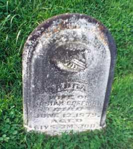 GOODRICH COFFMAN, SABRA - Gallia County, Ohio | SABRA GOODRICH COFFMAN - Ohio Gravestone Photos