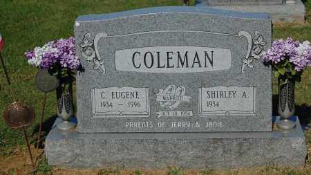 COLEMAN, SHIRLEY A - Gallia County, Ohio | SHIRLEY A COLEMAN - Ohio Gravestone Photos