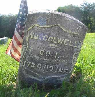 COLWELL, WM. - Gallia County, Ohio | WM. COLWELL - Ohio Gravestone Photos