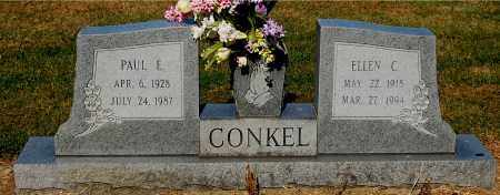 CONKEL, ELLEN C - Gallia County, Ohio | ELLEN C CONKEL - Ohio Gravestone Photos
