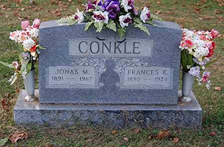 CONKLE, JONAS M - Gallia County, Ohio | JONAS M CONKLE - Ohio Gravestone Photos