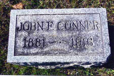 CONNER, JOHN F. - Gallia County, Ohio | JOHN F. CONNER - Ohio Gravestone Photos