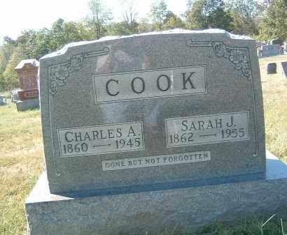 COOK, CHARLES A. - Gallia County, Ohio | CHARLES A. COOK - Ohio Gravestone Photos