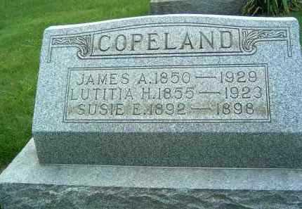 COPELAND, JAMES A. - Gallia County, Ohio | JAMES A. COPELAND - Ohio Gravestone Photos