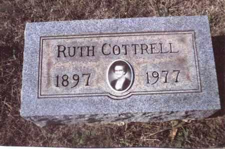 COTTRELL, RUTH - Gallia County, Ohio | RUTH COTTRELL - Ohio Gravestone Photos