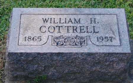 COTTRELL, WILLIAM H - Gallia County, Ohio | WILLIAM H COTTRELL - Ohio Gravestone Photos
