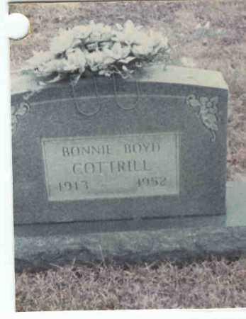 COTTRILL, BONNIE - Gallia County, Ohio   BONNIE COTTRILL - Ohio Gravestone Photos