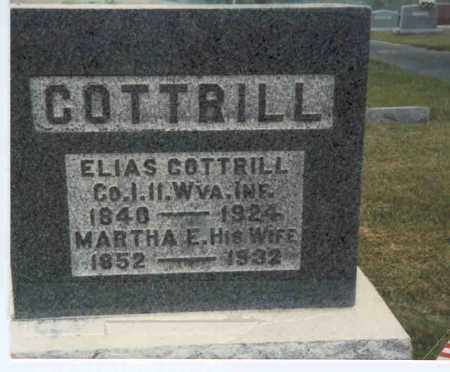 COTTRILL, ELIAS - Gallia County, Ohio | ELIAS COTTRILL - Ohio Gravestone Photos