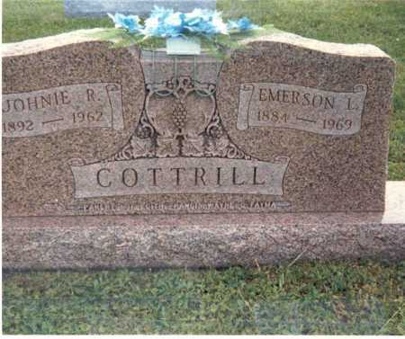 SAYRE COTTRILL, JOHNIE R. - Gallia County, Ohio | JOHNIE R. SAYRE COTTRILL - Ohio Gravestone Photos