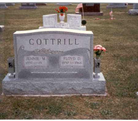 COTTRILL, JENNIE - Gallia County, Ohio | JENNIE COTTRILL - Ohio Gravestone Photos