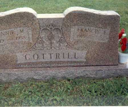 CANODE COTTRILL, MINNIE M - Gallia County, Ohio | MINNIE M CANODE COTTRILL - Ohio Gravestone Photos