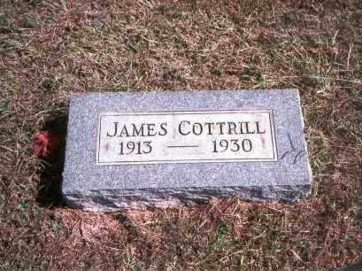 COTTRILL, JAMES - Gallia County, Ohio | JAMES COTTRILL - Ohio Gravestone Photos