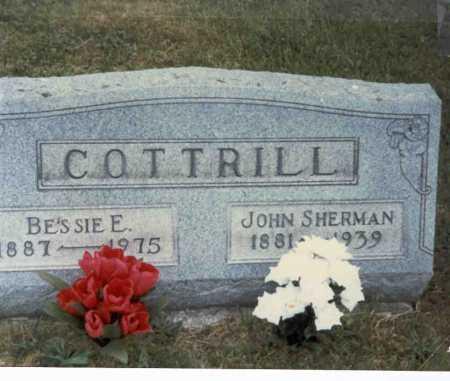 COTTRILL, BESSIE E. - Gallia County, Ohio | BESSIE E. COTTRILL - Ohio Gravestone Photos