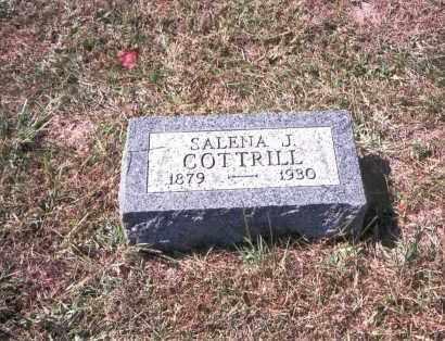 COTTRILL, SALENA J. - Gallia County, Ohio | SALENA J. COTTRILL - Ohio Gravestone Photos