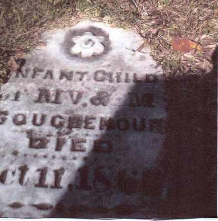 COUGHENOUR, INFANT CHILD - Gallia County, Ohio | INFANT CHILD COUGHENOUR - Ohio Gravestone Photos