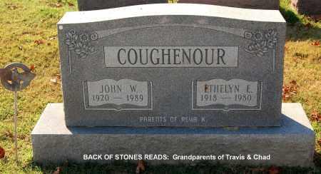 COUGHENOUR, JOHN W - Gallia County, Ohio   JOHN W COUGHENOUR - Ohio Gravestone Photos