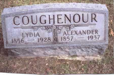 COUGHENOUR, ALEXANDER - Gallia County, Ohio | ALEXANDER COUGHENOUR - Ohio Gravestone Photos