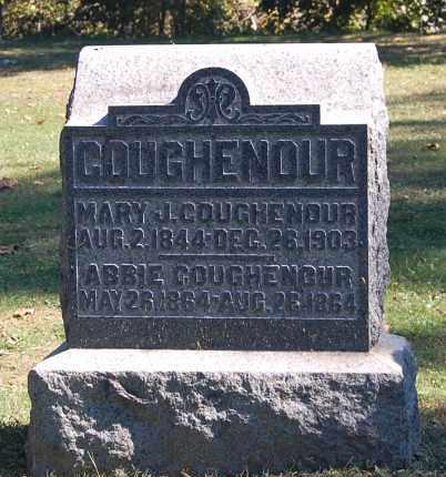 COUGHENOUR, ABBIE - Gallia County, Ohio | ABBIE COUGHENOUR - Ohio Gravestone Photos